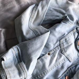 Zara Jackets & Coats - Light blue denim jacket